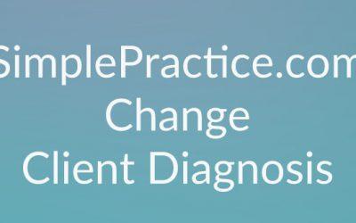 SimplePractice – Client Diagnosis